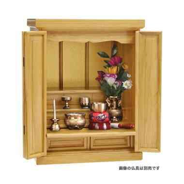 総桐製の高級感ある仏壇(清水産業)